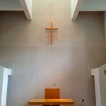 礼拝堂の十字架