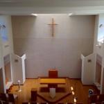 礼拝堂 2階から